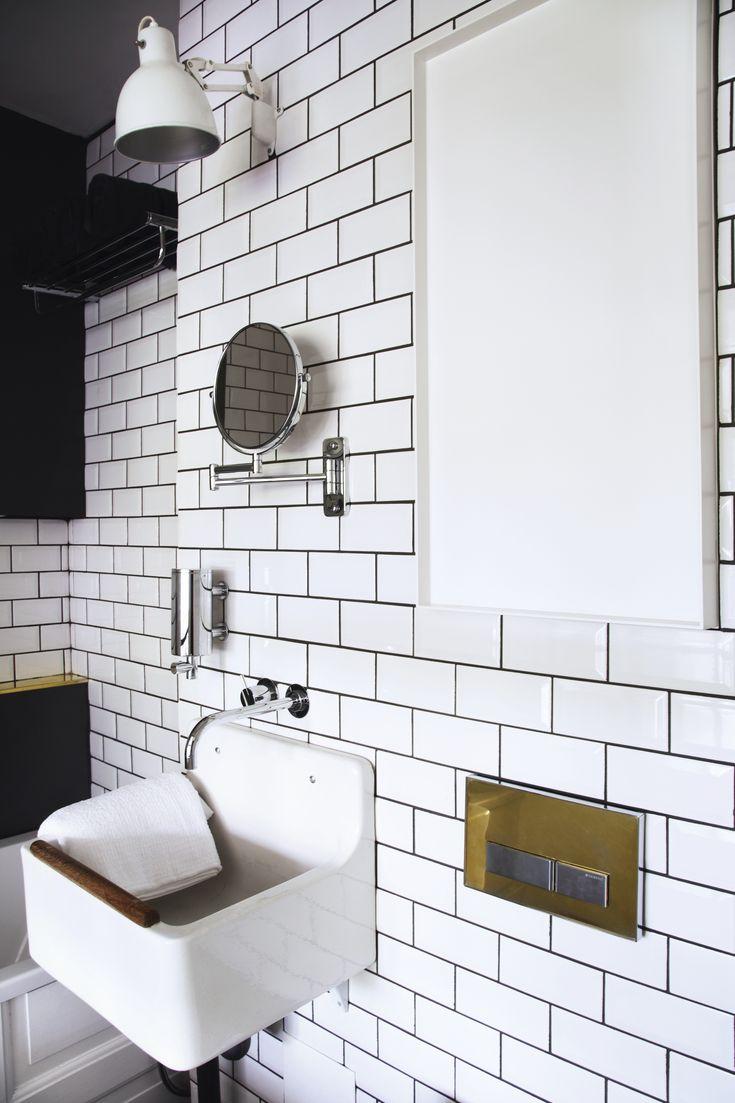 Slagterfliser badeværelse