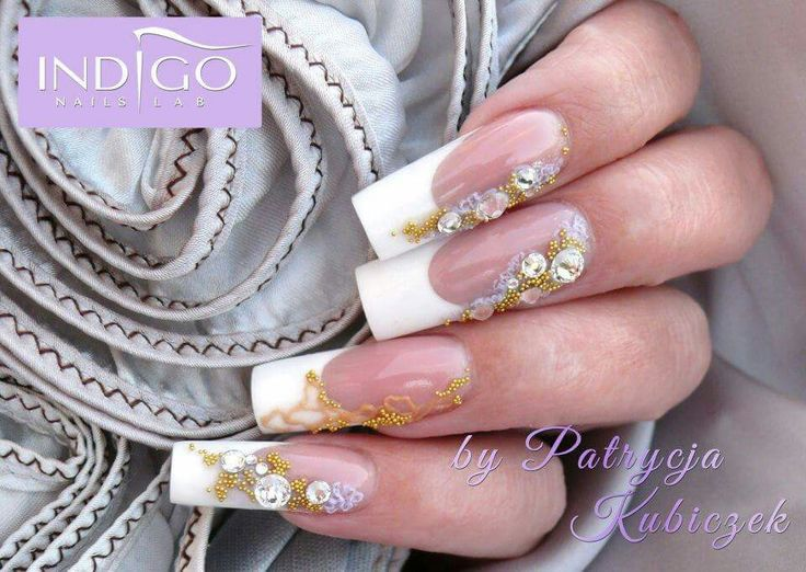 Gel nails french