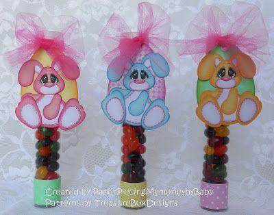 Jellybean tubes created using Tiny Treasure Bunny