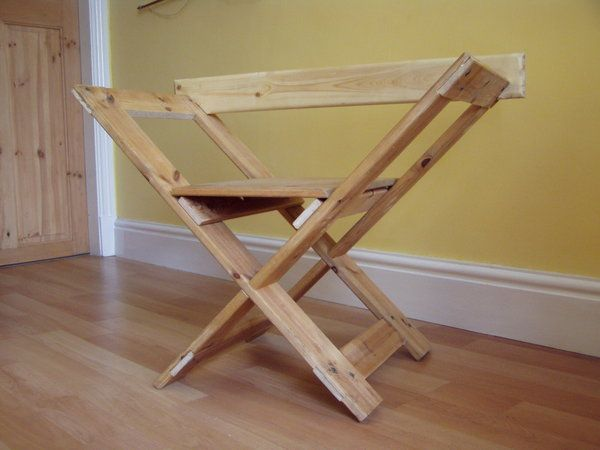 Wood Camp Chair Plans ~ Folding stool instructions woodworking projects plans