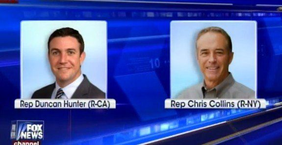 Breaking=> FIRST GOP LAWMAKERS – Chris Collins and Duncan Hunter – Endorse Donald Trump (VIDEO)  Jim Hoft Feb 24th, 2016