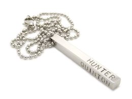 Personalised Mens Necklace-Hand Stamped Jewellery