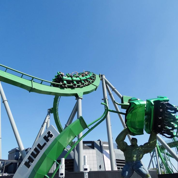 Montanha russa do Hulk no Islands of Adventure