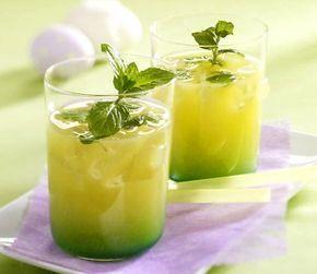 Домашний мятный лимонад