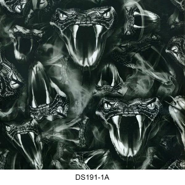 Hydrographics film skull pattern DS191-1A