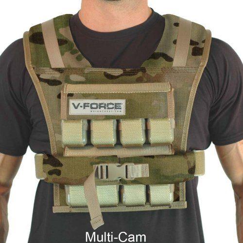 "40 lb. V-FORCE (Multi Cam, 4-1/4\"" wide shoulder) *** Want additional info? Click on the image."