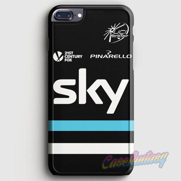 Team Sky Pro Cycling Pinarello Black Jersey iPhone 7 Plus Case | casefantasy