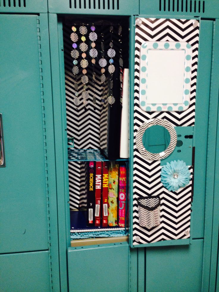 17 best images about cute lockers on pinterest locker for Mirror 7th girl