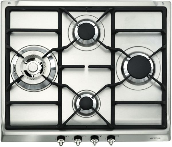 Smeg CIR60XS3 60cm Gas Cooktop at The Good Guys