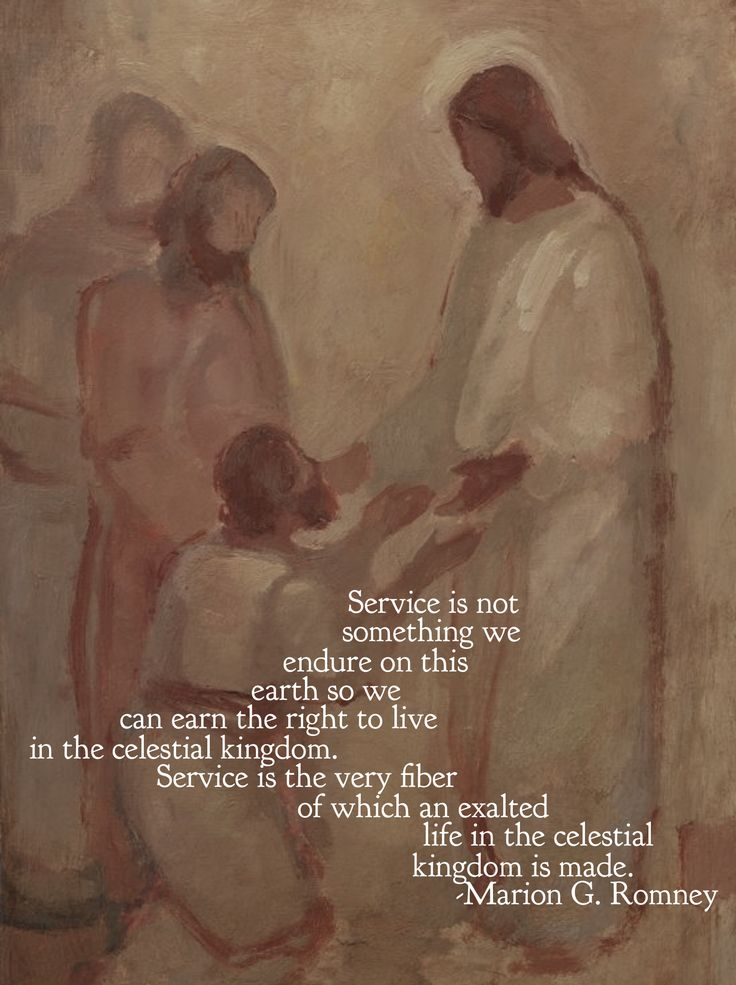 Service is not something we endure on this earth so we can earn the right to live in the celestial kingdom. #Service is the very fiber of which an exalted life in the celestial kingdom is made. #ldsquotes #elderromney #lds #serve