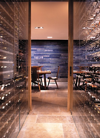 17 best images about italian restaurant on pinterest for Walk in wine room