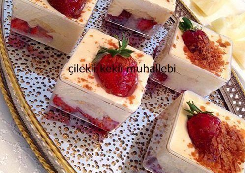 Muhallebi hem hafif hem de lezzetli bir tatlı türü.