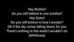 hey brother avicii letra - YouTube