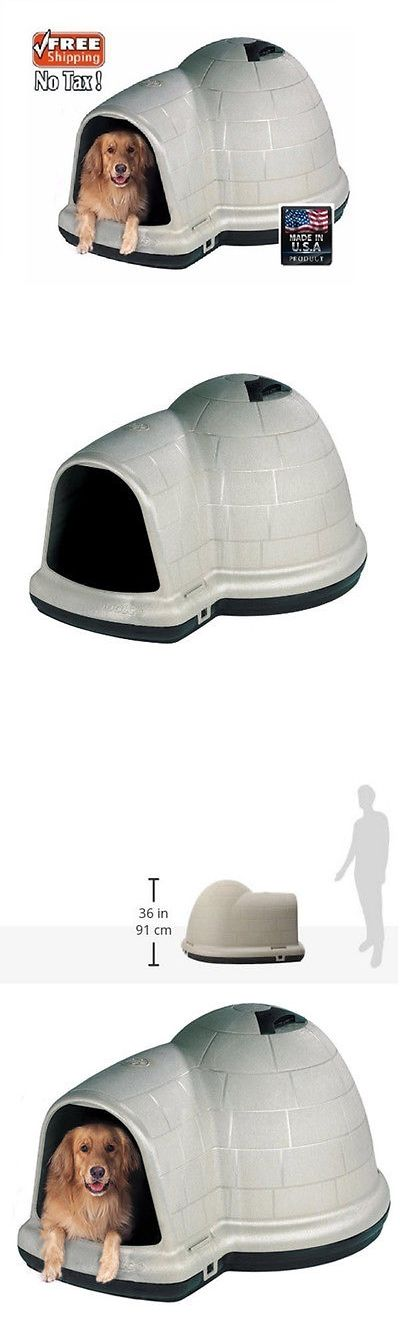 Dog Houses 108884: Igloo Dog House Medium Petmate Igloos Houses Bed Beds Outdoor Kit Dogloo Puppy -> BUY IT NOW ONLY: $98.97 on eBay!