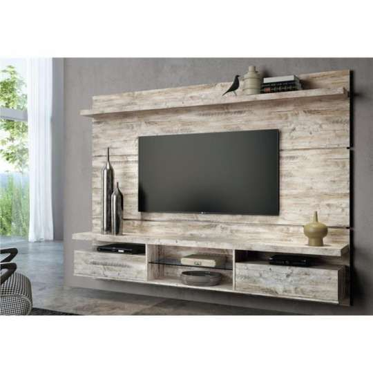 painel de tv com rack rustico - Pesquisa Google