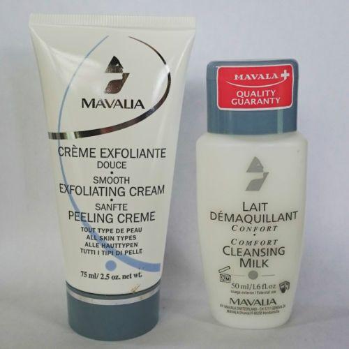 MAVALA-Creme-exfoliante-douce-gommage-75ml-CADEAU-LAIT-DEMAQUILLANT-CONFORT