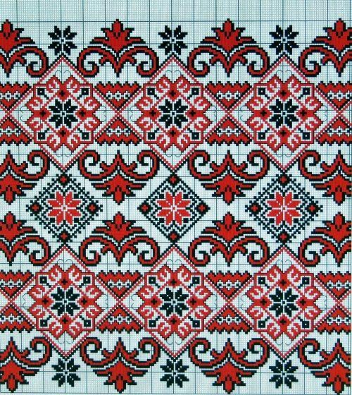 Схема для вышивки DOME - Вышивка крестом - Лучшая коллекция схем