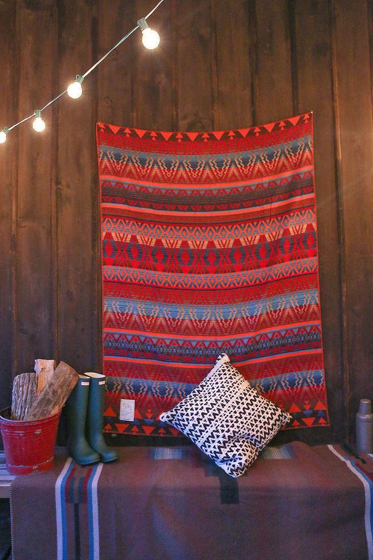 Woolrich Vista View Throw BlanketPrinted throw blanket