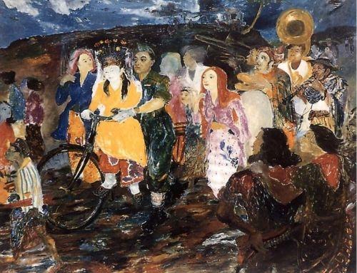 """Pengantin Revolusi"" (Hendra Gunawan) one of rare paintings that actually touches my soul"