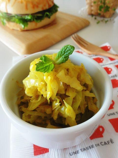 【保存食】キャベツカレー炒め。   美肌レシピ
