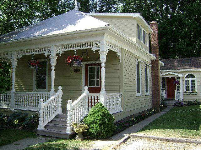 Lovely Porch Cute House Niagara On The Lake Porches
