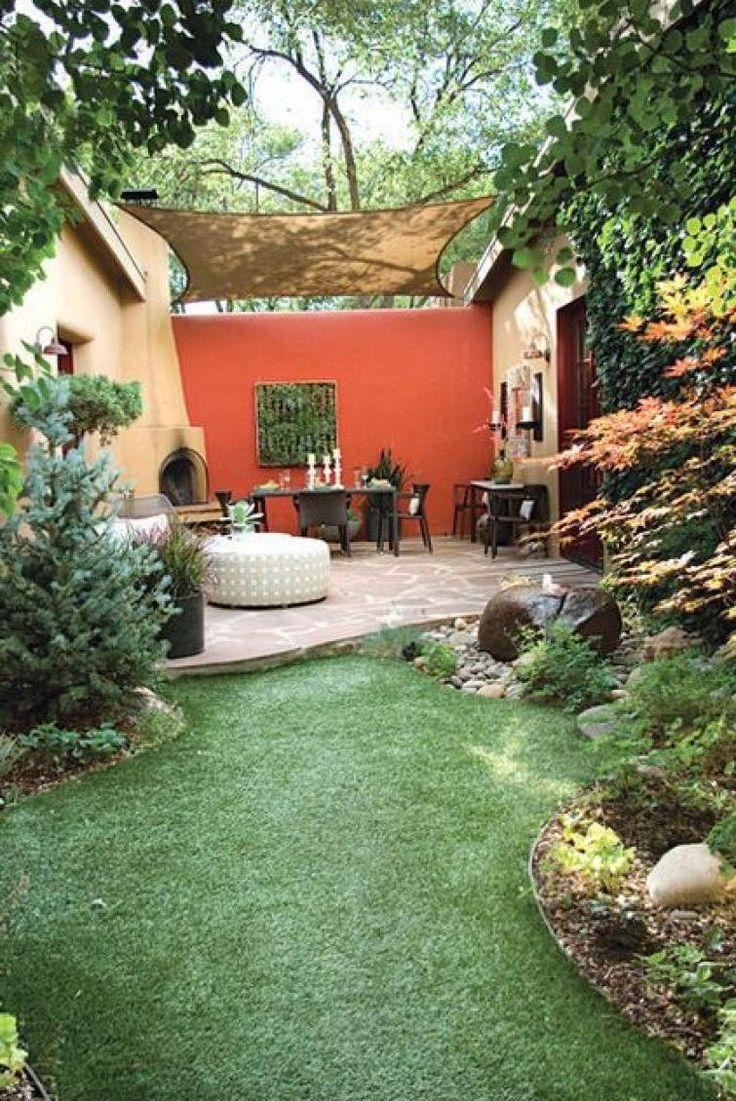 Beautiful small backyard landscape   Home Decor Inspirations