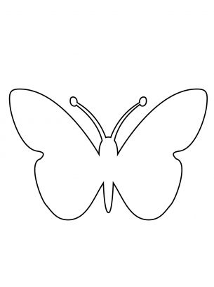 78+ ideas about Printable Butterfly on Pinterest | Kids valentines ...