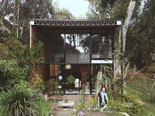 Eames Case Study House No. 8 In Pacific Palisades