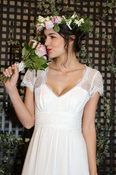 Robe de mariée Flora par Elsa Gary collection 2017