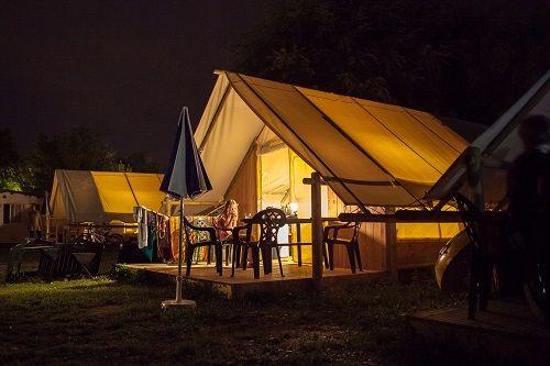 New Safari Tend, Camping Lago di Levico