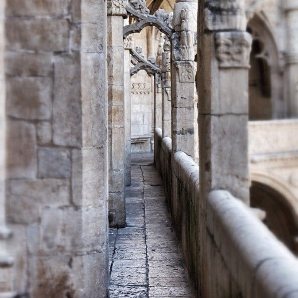guigling: Monasterio dos Jeronimos, Lisbon (Taken with instagram)
