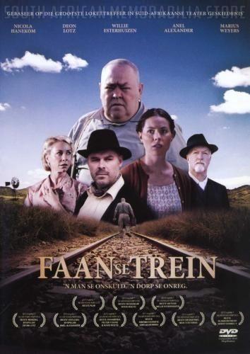 FAAN SE TREIN - Marius Weyers - South African Afrikaans DVD *New* - South African Memorabilia Store