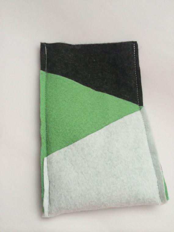 Felt Phone Cozy with Triangle Pockets by BillyandElizabeth on Etsy, $10.00