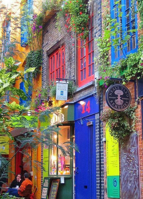 Colours of Neal's Yard in London, England!Want to explore the breathtaking serenity of #Europe? Find the best #travel insurance and transform your dreams into reality... https://plus.google.com/+AdamAntUK/about
