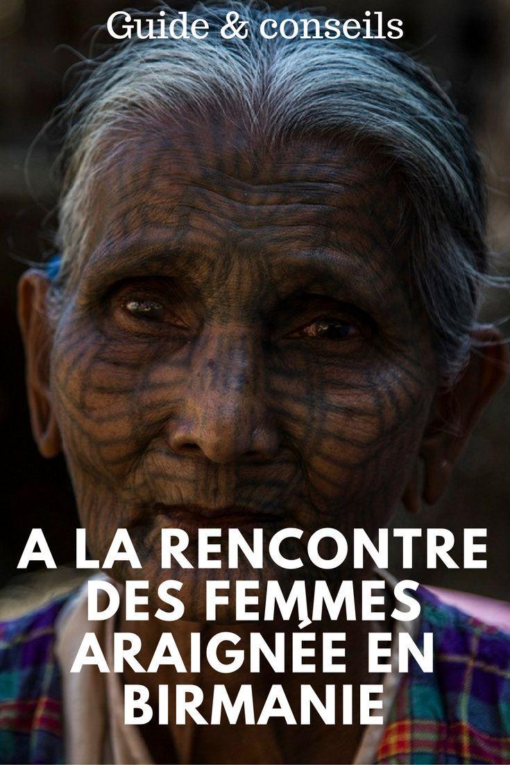 Les femmes araignée en Birmanie