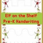 1K Total Shares Pin1K Tweet0 Share0 +12These Christmas Printables: Elf on the Shelf Handwriting worksheets for kids will help your preschool and kindergarten aged children work on fine motor skills and their handwriting. Plus, they are in an adorable Elf on the Shelf theme. Does the Elf visit your house? Maybe he can fill out […]