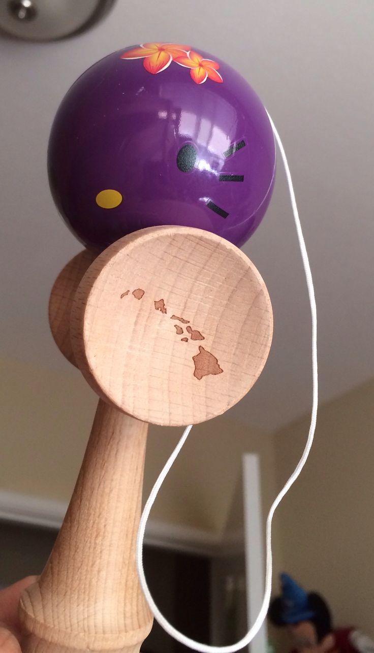 My purple Hello Kitty Kendama
