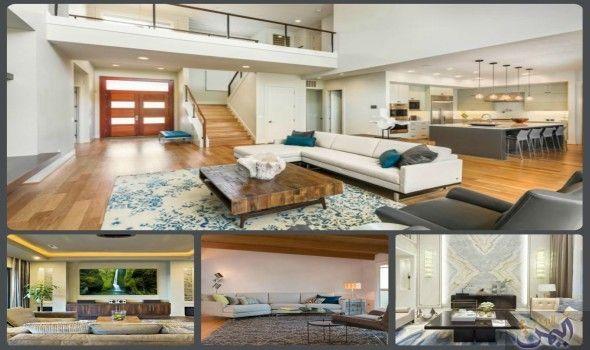 تعرفي علي ديكورات صالات استقبال الضيوف مريحة وجذابة Furniture Home Home Decor