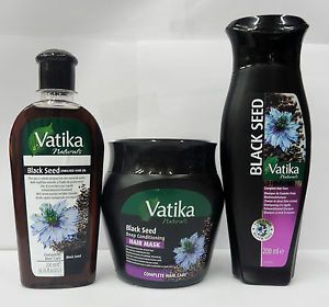 vatika black seed | Details about VATIKA NATURALS BLACK SEED OIL,SHAMPOO & MASK FOR HAIR ...