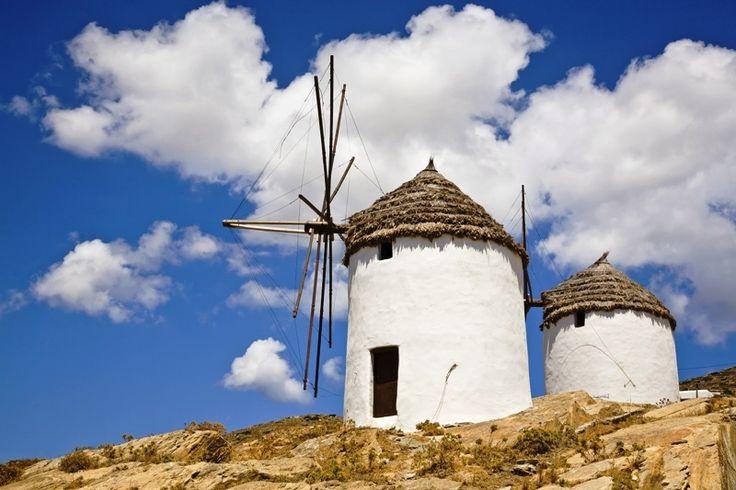 Windmills of Ios, Greece