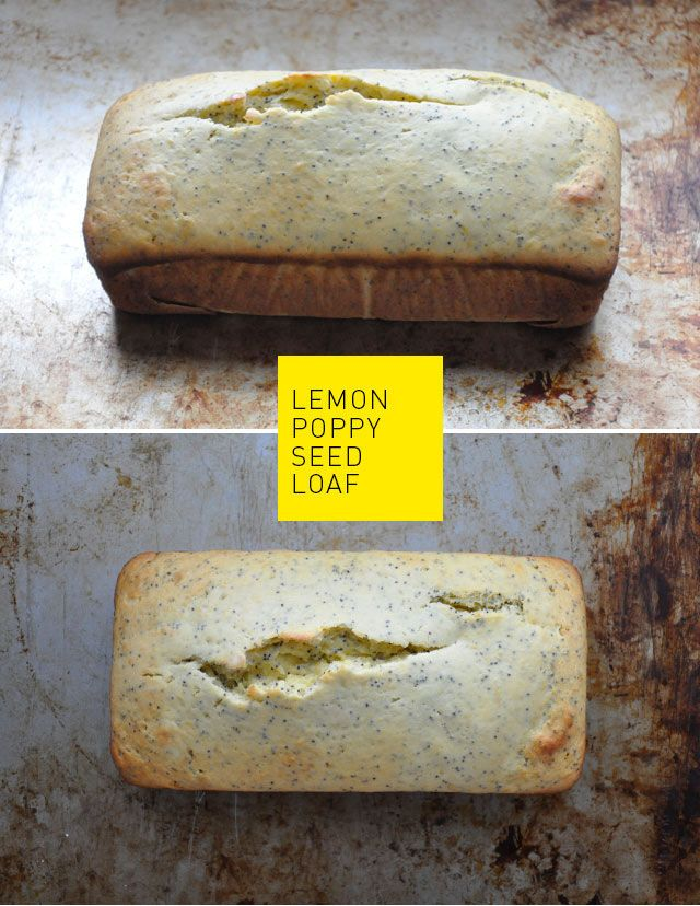 lemon poppy seed loaf recipe