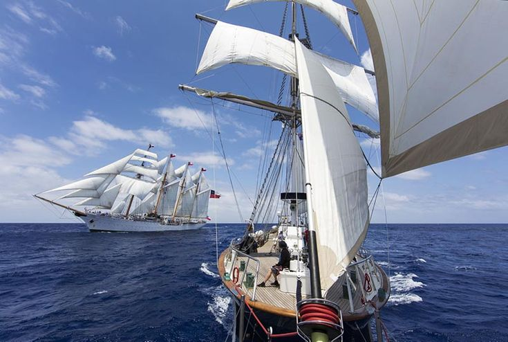 Young Endeavour completes world tour