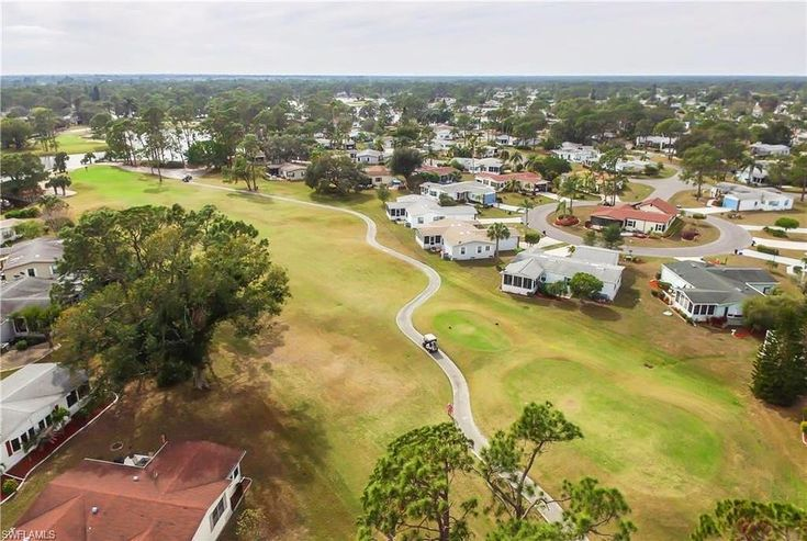 2/2 1296 sqft home in one of the best 55 communities! Located in Pine Lakes enjoy golf course views of the 8th tee! Community offers golf pool spa and restaurant on site.   Price: $149900 Agent: Elaine Veasy Phone: 239-470-2839 Address: 10074 Broken Woods Ct North Fort Myers FL 33903 MLS: 218009434   #northfortmyers #north #fortmyers #florida #swfl #realestate #realty #realtor #realestateagent #broker #55 #golf #golfcourse #golfing #community #new #listing #forsale #marketing #market #drone…