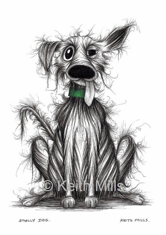 Smelly dog Print download by KeithMills on Etsy, £3.00