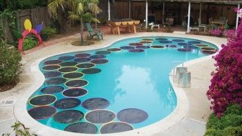 16 Genius Pool Hacks That Will MAKE Your Summer10 Help keep your pool warm by making your very own solar rings. Simply take a hula hoop and warp black plastic around it. The plastic will absorb heat, which transfer to your pool!