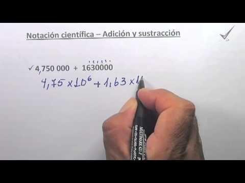 Notación Científica - Adición Parte VI. http://youtu.be/JfvpApTgkak  http://profesorajesus.com