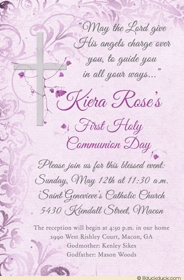 The 25 best Holy munion invitations ideas on Pinterest