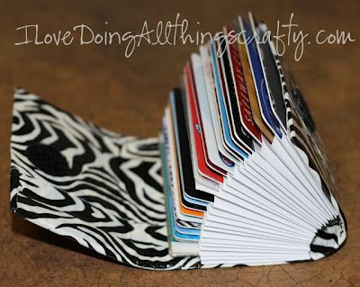 "(I) (L)ove (D)oing (A)ll Things Crafty!: DIY ""Credit Card"" Wallet"