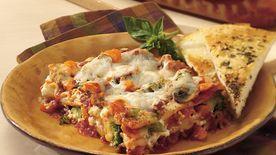 Easy Meatless Lasagna Recipe - BettyCrocker.com