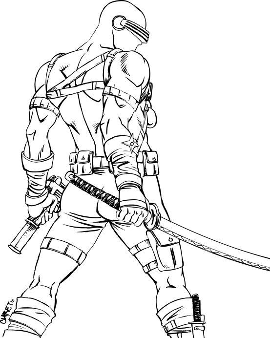 snake eyes gi joe assassin ninjas art drawings army